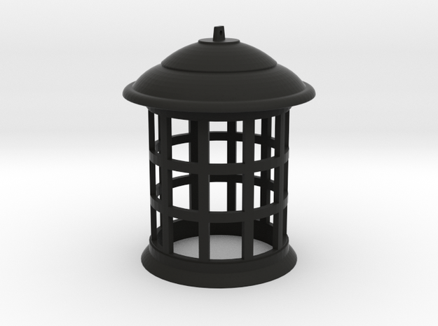 1/4 Scale TARDIS Top Lamp in Black Strong & Flexible