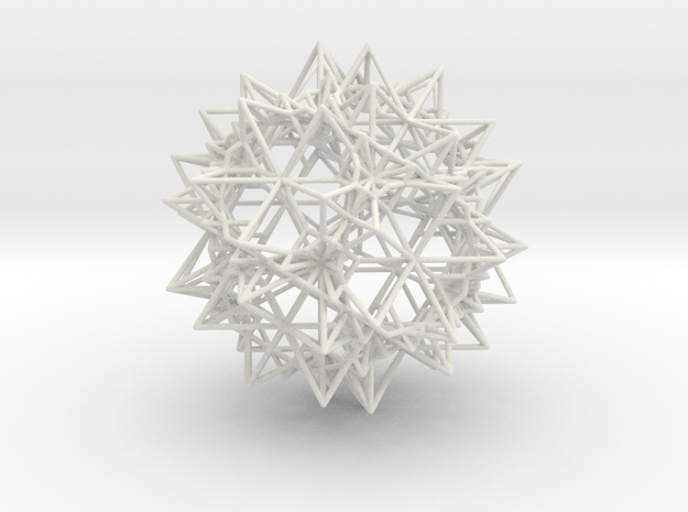Stellation of a Rhombic Triacontahedron