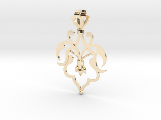 CODE: SL04FX - PENDANT in 14k Gold Plated