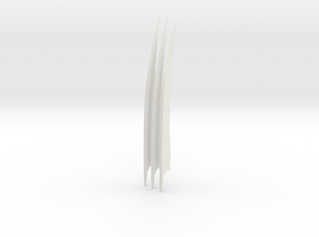 Wolverine Movie Claws (set) in White Strong & Flexible
