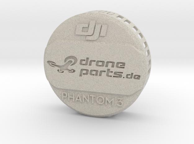 Phantom 3 Linsen Abdeckung / Schutz in Natural Sandstone