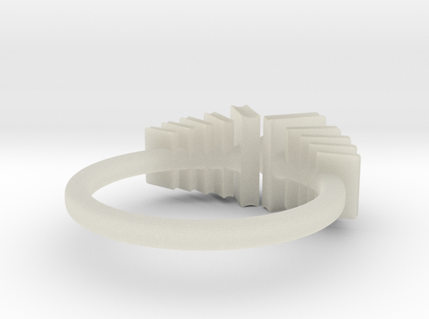 Bookworm ring 3d printed