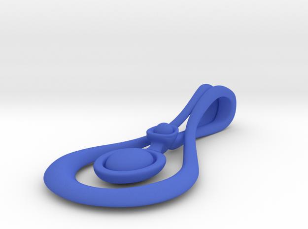 Droplet Pendant 3d printed