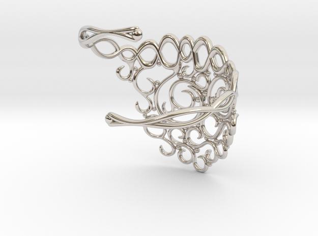 Arabesque Bracelet 3d printed