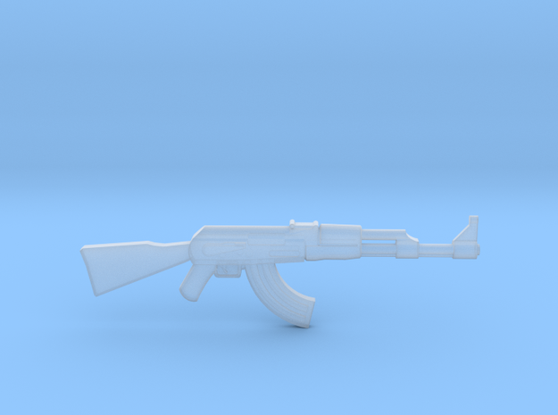 AK-47 1/48 scale in Smooth Fine Detail Plastic