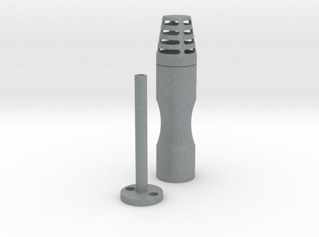 Jetpack Beacon in Polished Metallic Plastic
