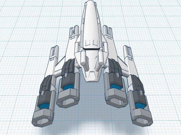 Nomad-D SR-II 3d printed Tier 3 XIA spacecraft REGULATION XIA SPEC **TRIBUTE**
