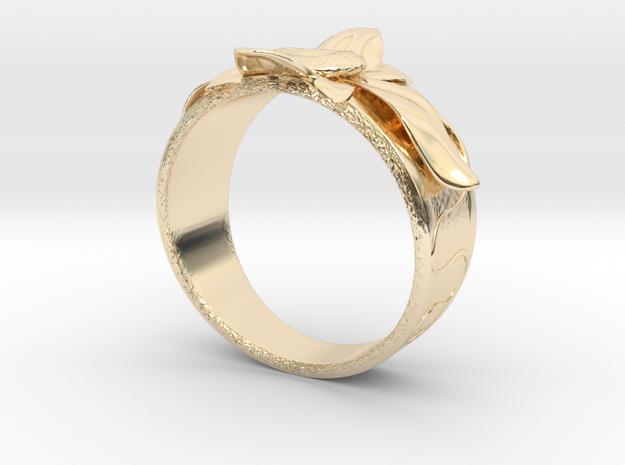 Flower Ring no.10 in 14K Gold