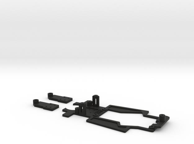 Chasis para 935 Scaleauto in Black Natural Versatile Plastic