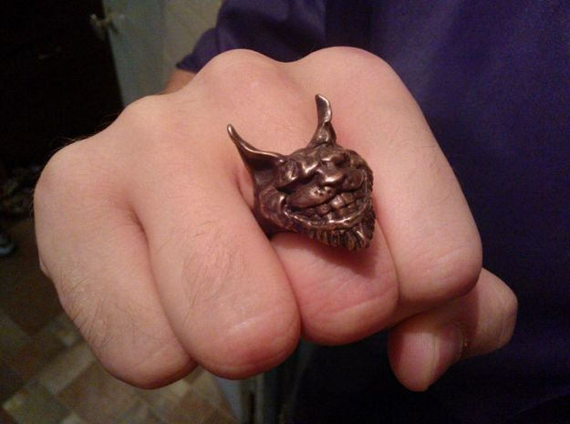 Alice: Madness Returns Cheshire Cat Ring