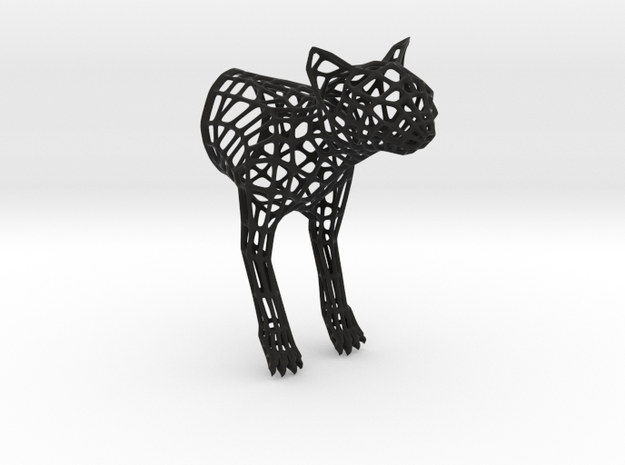 """Caliph The Cat"" Wire Sculpture front"