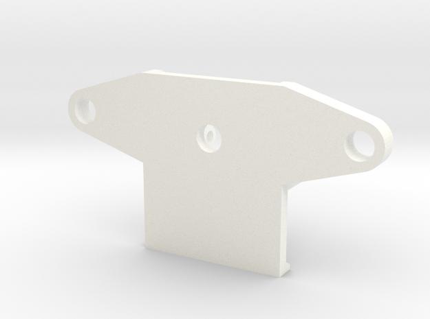 BASECLAMP21 Rev1 in White Processed Versatile Plastic
