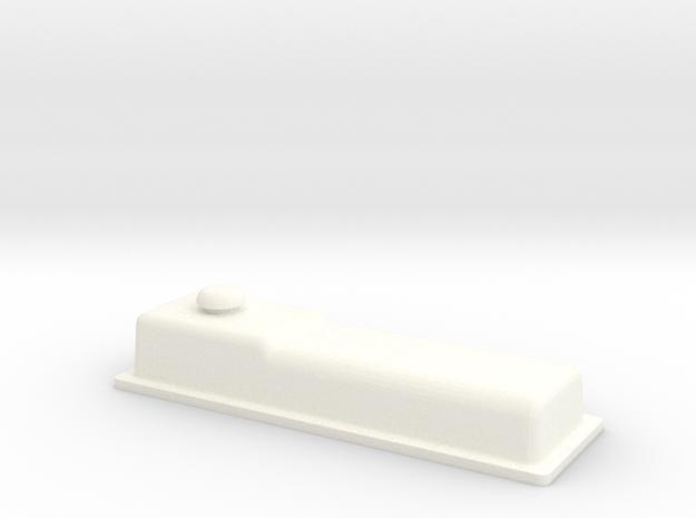 Straight Six 1-10 Valve Cover in White Processed Versatile Plastic