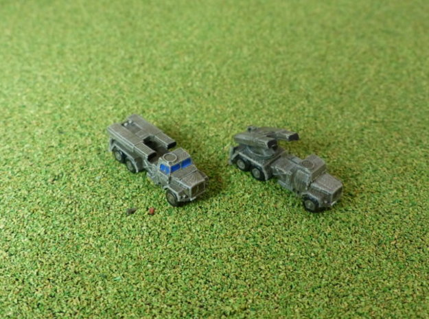 German LARS 1 Missile Launcher 1/285 6mm in Smooth Fine Detail Plastic