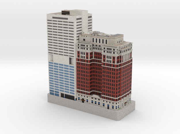 One Penn Center, The Phoenix - Philadelphia, PA in Full Color Sandstone