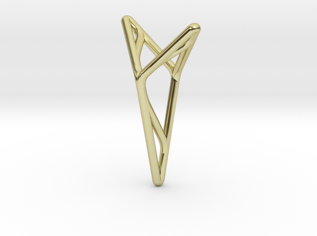 YOUNIVERSAL M3, Pendant in 18k Gold Plated