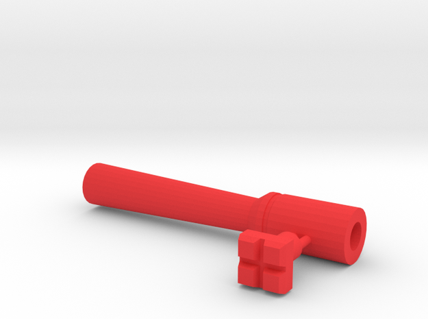 Leather stamp 8, square blocks and holder/tool in Red Processed Versatile Plastic