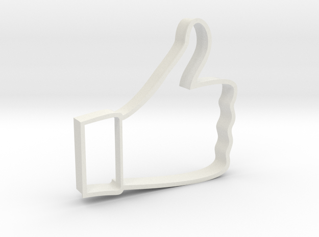 Cookie Cutter - Like in White Natural Versatile Plastic