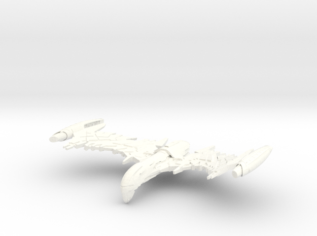 """Valbird Class WarBird  4"""" in White Strong & Flexible Polished"""