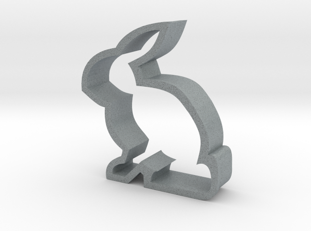 Bunny Cookie Cutter 3d printed