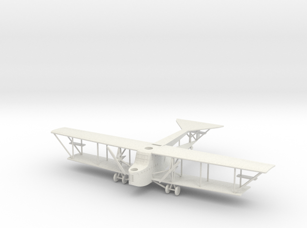 SSW R.III, Short Span, 1:144th Scale in White Natural Versatile Plastic
