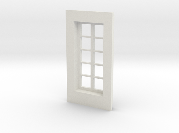 Window type 1 in White Strong & Flexible