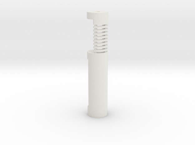 Chassis V3 with chamber star wars lightsaber in White Natural Versatile Plastic