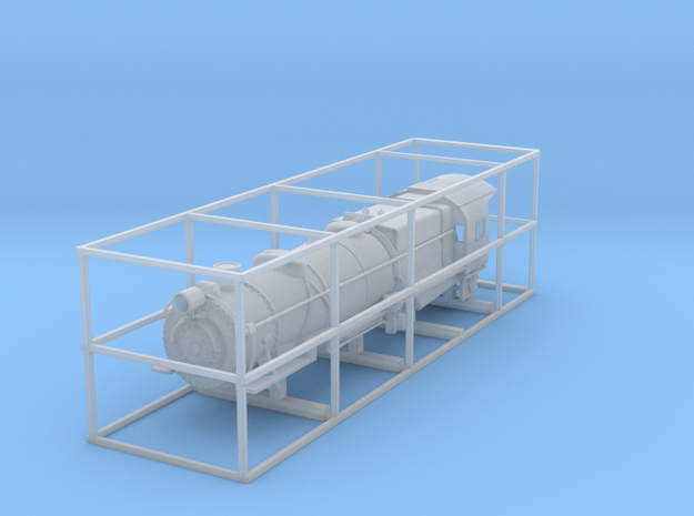 N Scale PRR L1 Shell for Kato Mikado Mechanism