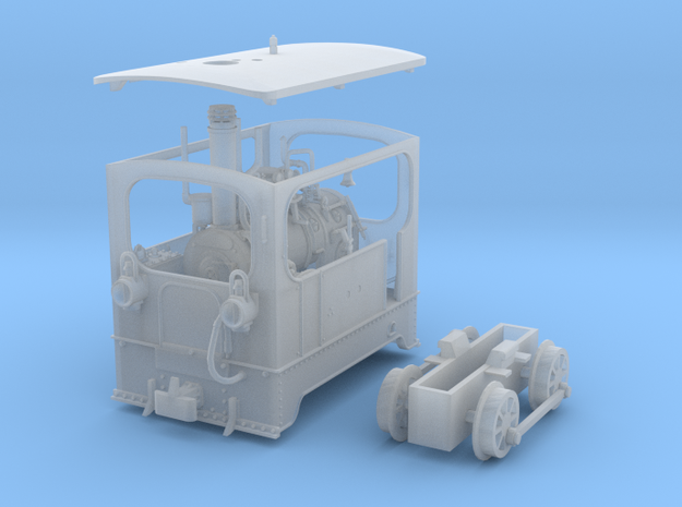 1:87 Tramway Loco no.5 Backer & Rueb 3d printed