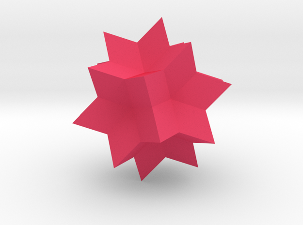 Wolfram|Alpha Spikey 3d printed