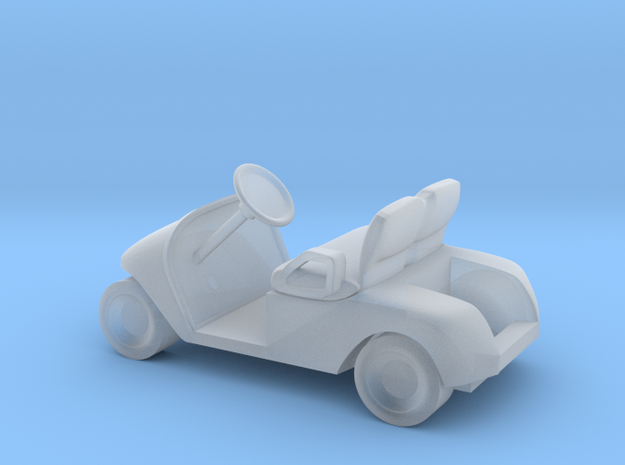 N scale (1:160) Modern Golf Cart in Smoothest Fine Detail Plastic