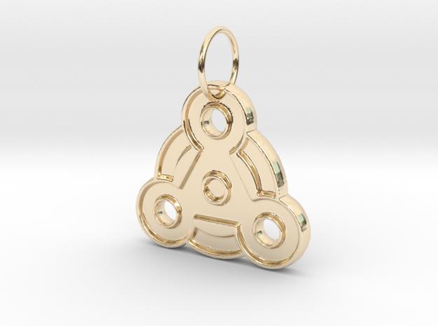 Magic Pendant in 14K Yellow Gold