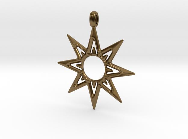 STAR OF VENUS Jewelry Symbol Pendant.