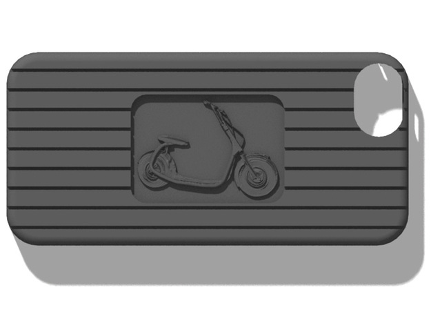 iPhone 5 Scooter 2 case in Black Strong & Flexible