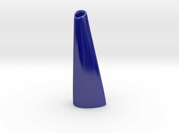 Organic Vase 3.0 (Small) - Ceramic 3d printed