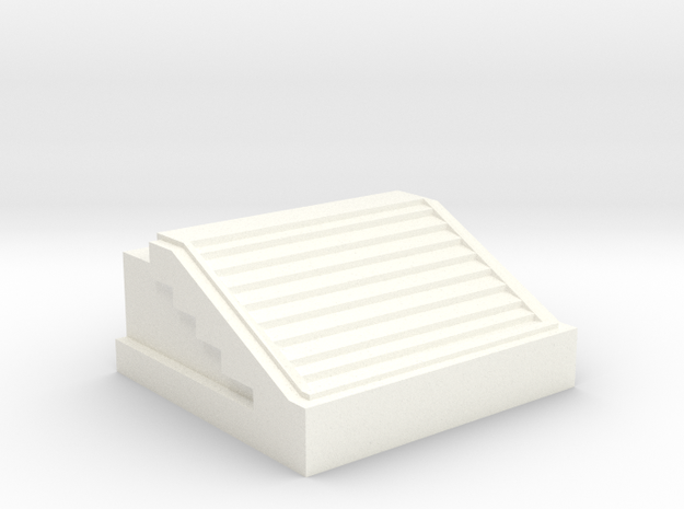 QEII Library in White Strong & Flexible Polished