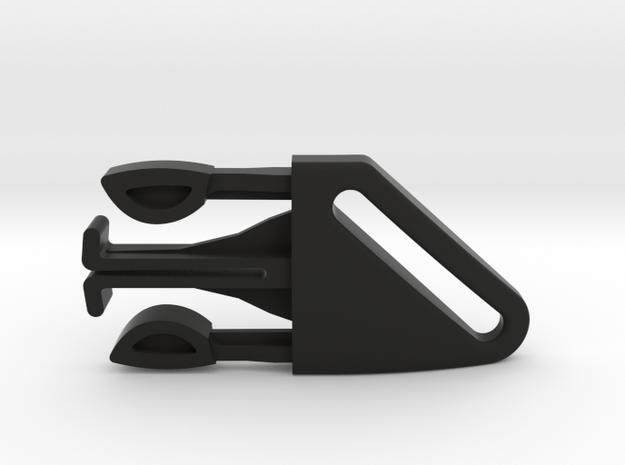 2007/2009 Bugaboo Bee harness clip Right in Black Natural Versatile Plastic