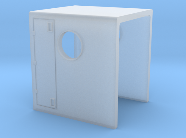 N Scale GP9B Hood Section in Smooth Fine Detail Plastic