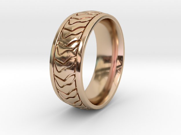 ZEBRA RING SIZE 10 3d printed