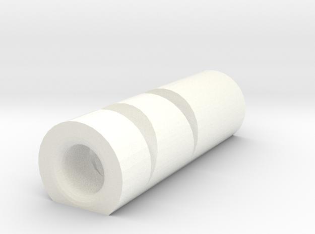 KnifeDisplay Large in White Processed Versatile Plastic
