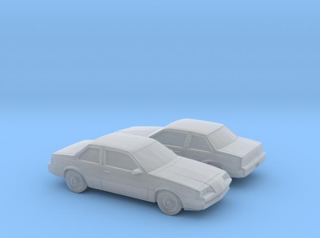 1/160 2X 1981-83 Buick Skyhawk Coupe