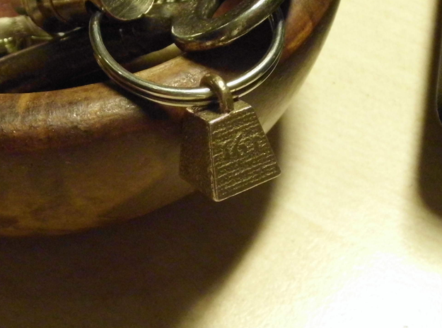 sweet sixteen tons keychain in Stainless Steel