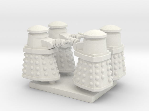 Daleck01 (4) HO 87:1 Scale in White Natural Versatile Plastic