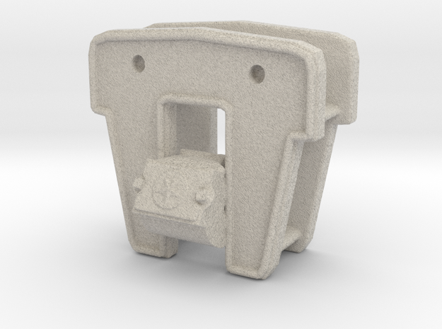 1:20 scale journal housing and oil resev 3d printed