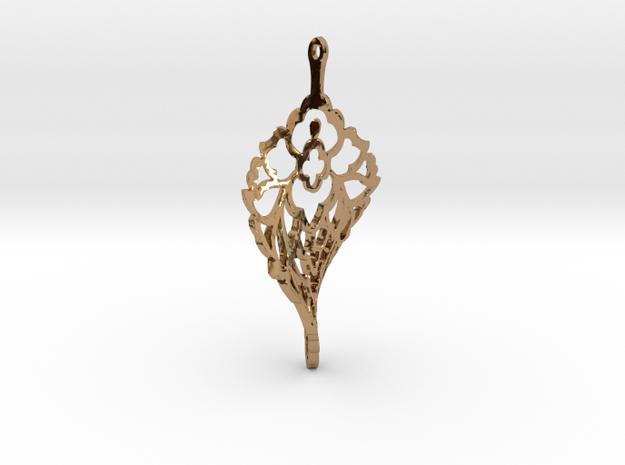 PATEERB TWIST in Polished Brass