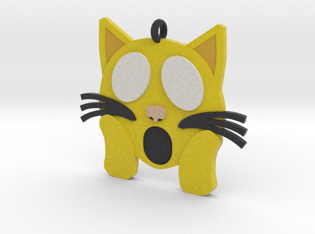 Shocked Kitty in Full Color Sandstone
