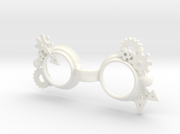 Steam punk Goggles:  YOSD 1/6 doll size