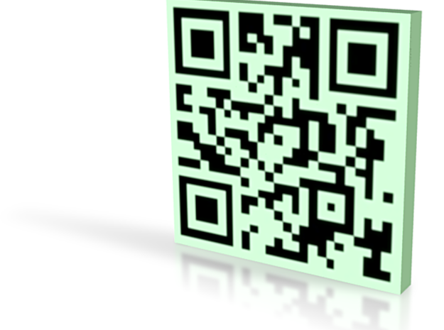 QRCode -- alexcoluzzi@comcast.net 3d printed