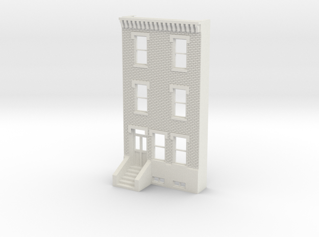 HO SCALE ROW HOME FRONT BRICK 3S