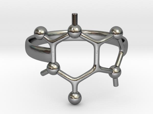 Caffeine molecule ring - Size 8